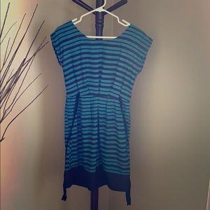 Dresses & Skirts - Lightweight navy and teal dress